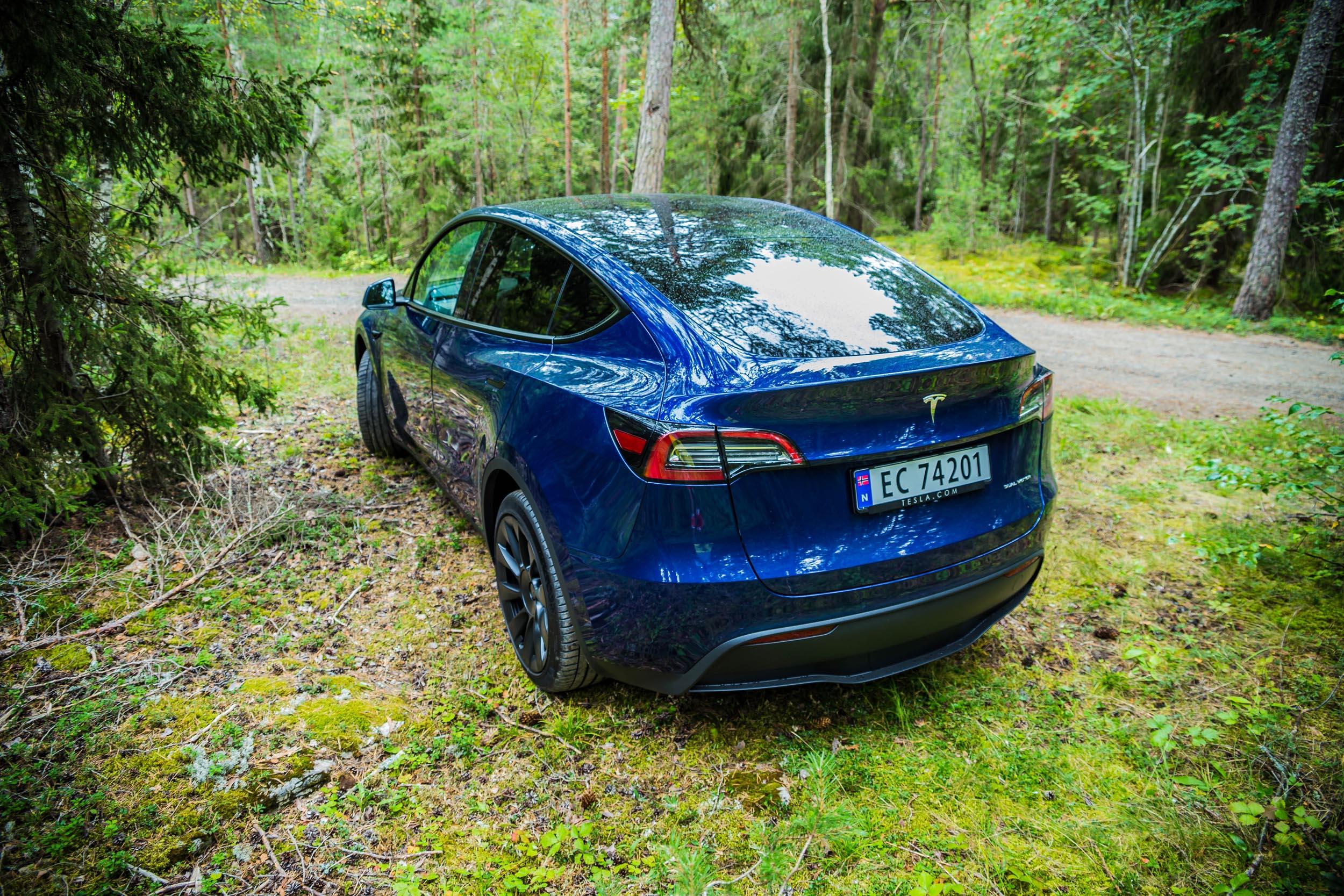 Tesla Model Y • Foto: Martin Koksrud Bekkelund